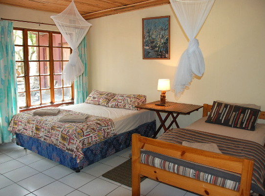 Bedroom 5 with own private external bathroom.